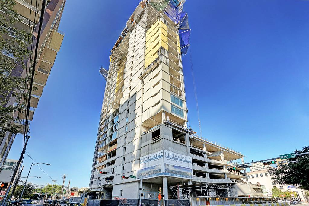 5th & West Residences  at 501  West Ave, Austin, TX 78701