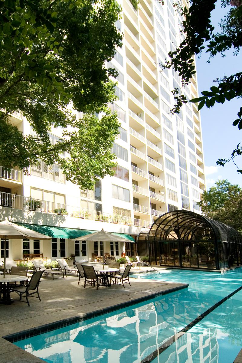 The Houstonian at 121 N Post Oak, Houston, TX 77024