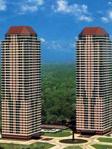 Four Leaf Towers at 5100 San Felipe, Houston, TX 77056