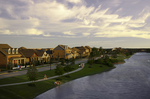Bridgeland+cypress tx model homes