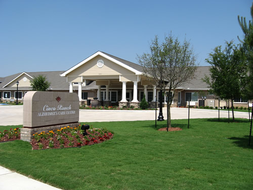 Cinco Ranch Alzheimer's Special Care Center at  3206 South Fry Road, Katy, TX 77450